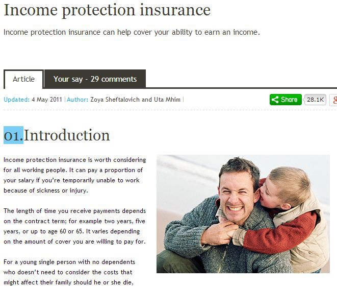 Protection Insurance